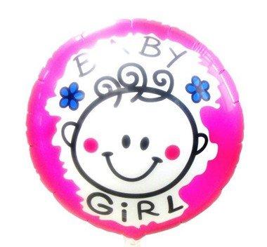 MYLAR BABY GIRL