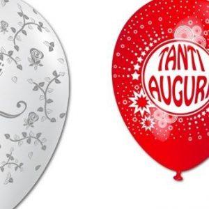 palloncini con stampe