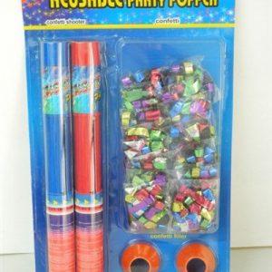 reusable party popper