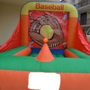 gioco gonfiabile baseball