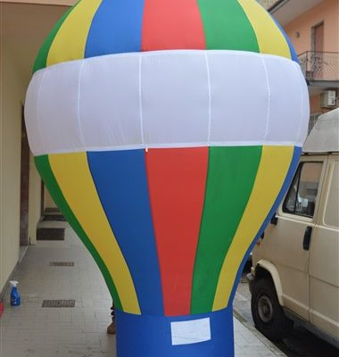 mongolfiera gonfiabile