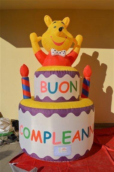 Torta Buon Compleanno Gonfiabile Pooh Magianimation