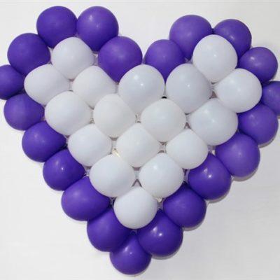 dima cuore per palloncini
