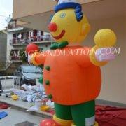 clown gonfiabile banner 2