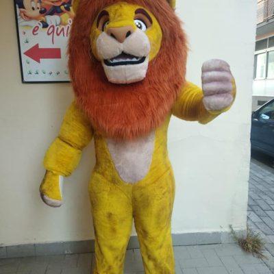 mascotte re leone