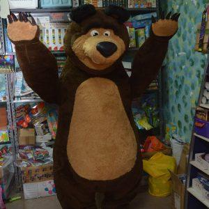 mascotte orso ( di masha ) luxury
